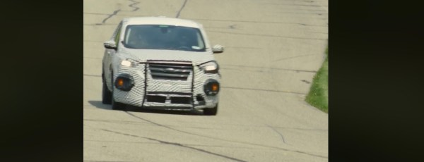 Ford shows Mustang-inspired electric car in testing video - Electrek