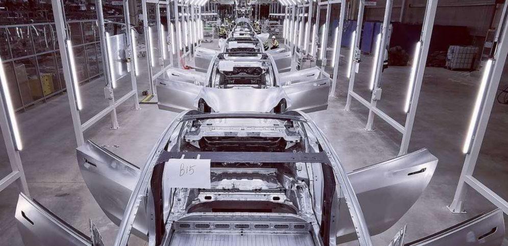 Tesla Gigafactory Shanghai Body shop