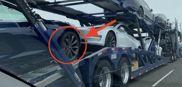 Tesla Model 3 new black wheels