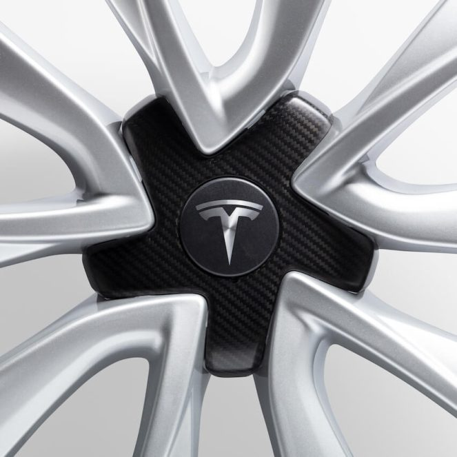 Tesla wheel cap 1