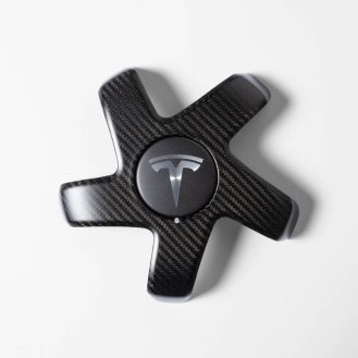 Tesla wheel cap 2
