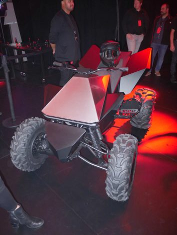 Tesla Cyberquad electric ATV 2
