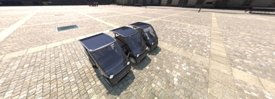 Squad Solar City car row MaaS