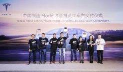 Tesla China Model 3 delviery 4