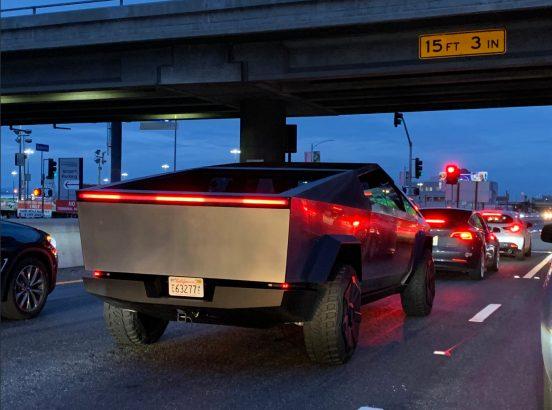 Tesla Cybertruck prototype sighting