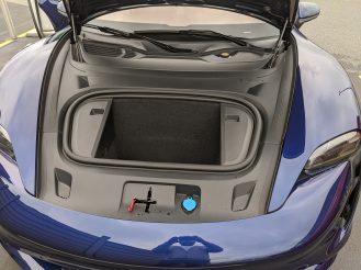 Porsche Taycan Frunk-4