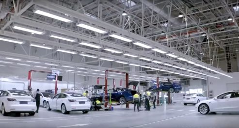 Tesla Gigafactory 3 inspection 2