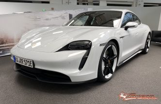 Porsche Taycan 4S delivery 1
