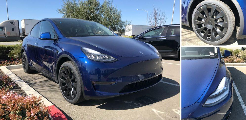 Tesla Model Y close look