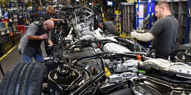 Production of the Ford Expedition