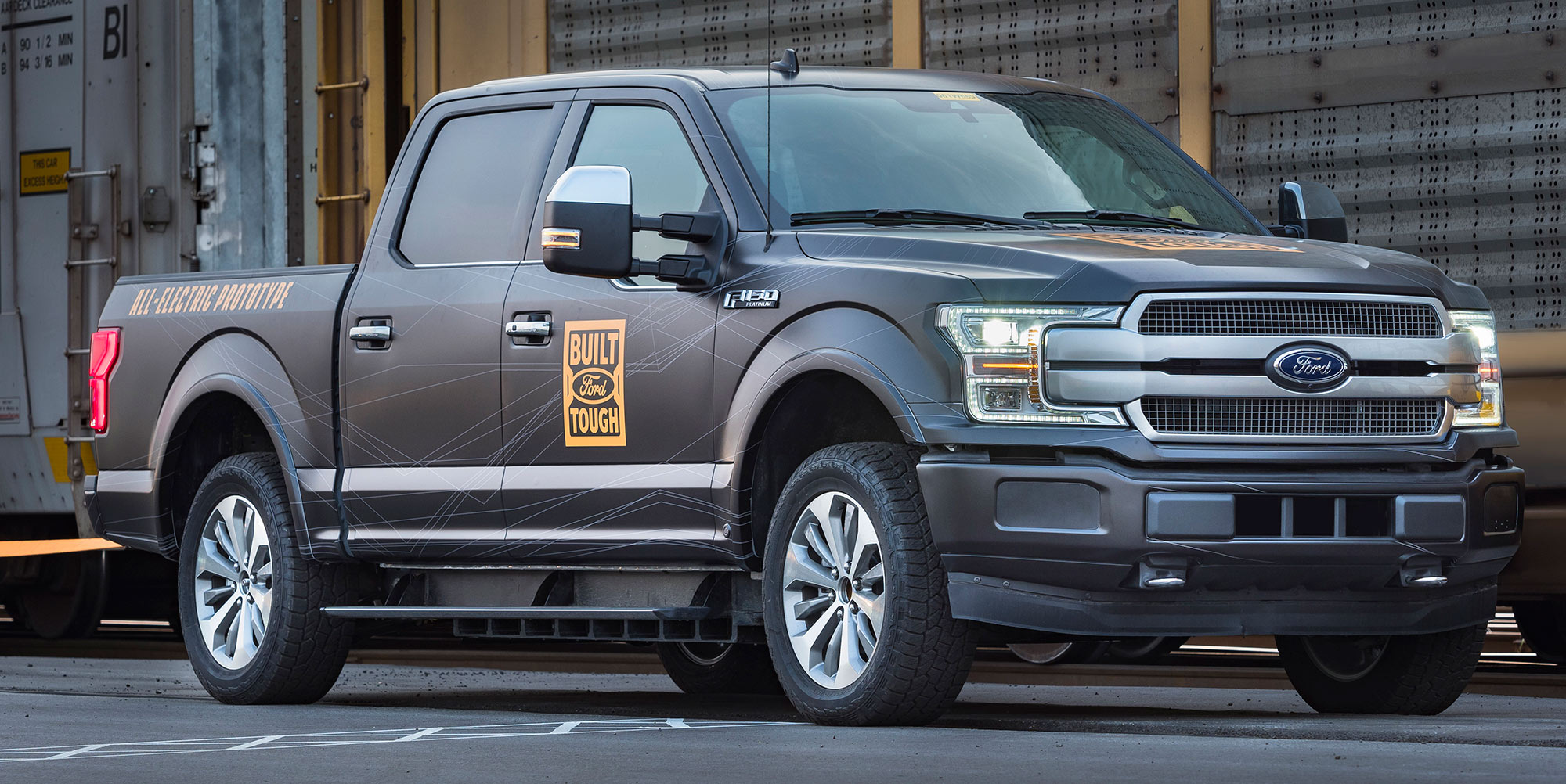 Electric F-150 prototype