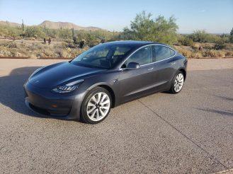 Tesla Model 3 update 1