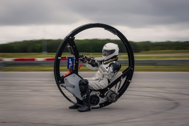 electric monowheel