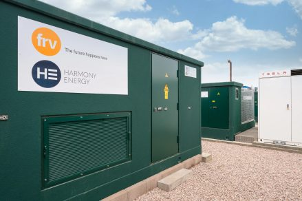 Holes Bay battery energy storage facility - developed by Harmony Energy and FRV with Tesla Megapack batteries