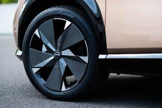 Nissan Ariya wheel image_20inch alloy wheel_2
