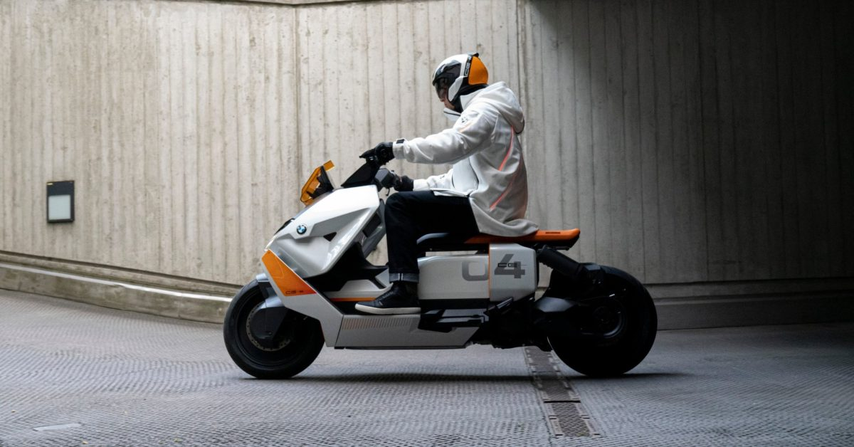 BMW unveils radical new electric scooter straight from the future