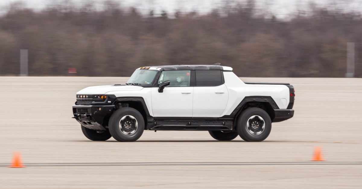 Someone bought the very first new GMC Hummer EV electric pickup truck... image