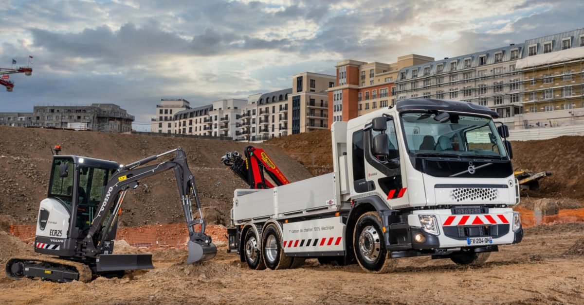 Volvo begins deliveries of its electric construction machinery - Electrek