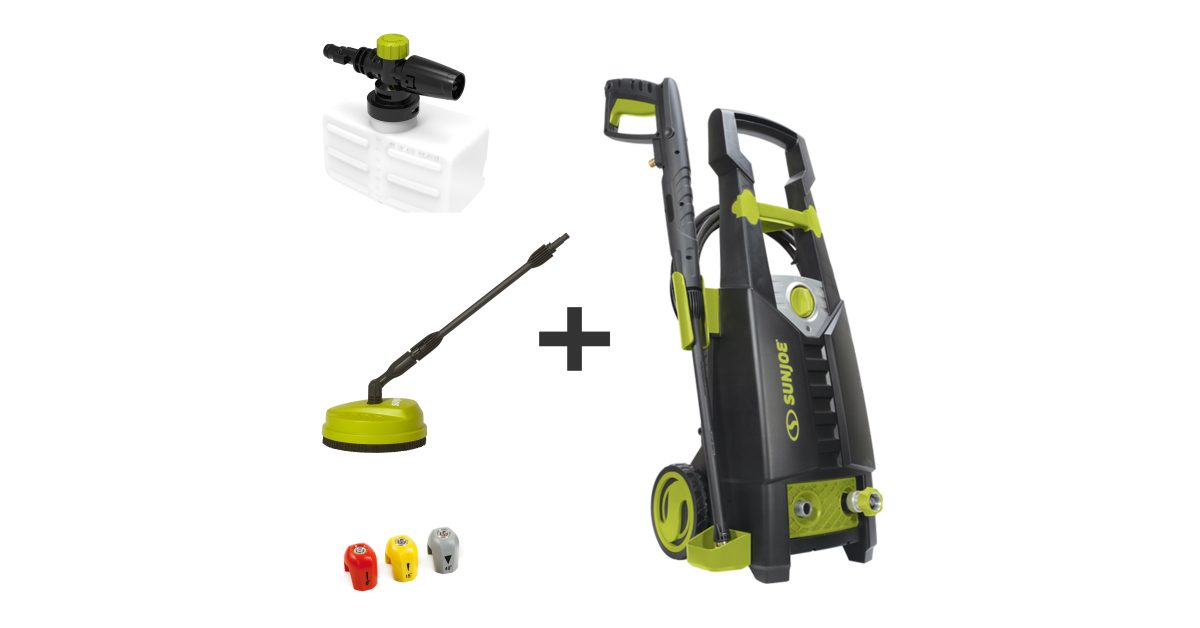 Green Deals: Sun Joe 2000PSI Electric Pressure Washer $79, more - Electrek