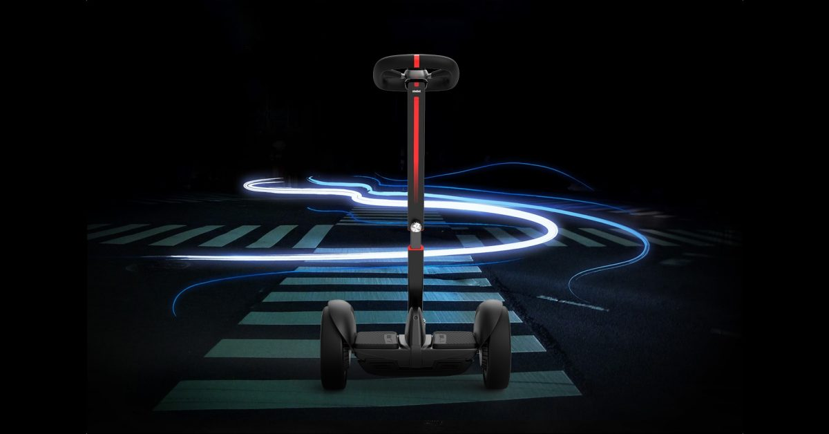 Segway-Ninebot launches self-balancing e-scooter with steering wheel
