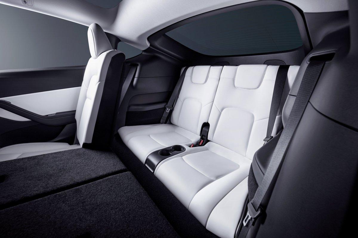 Tesla Y 7 Seat Interior