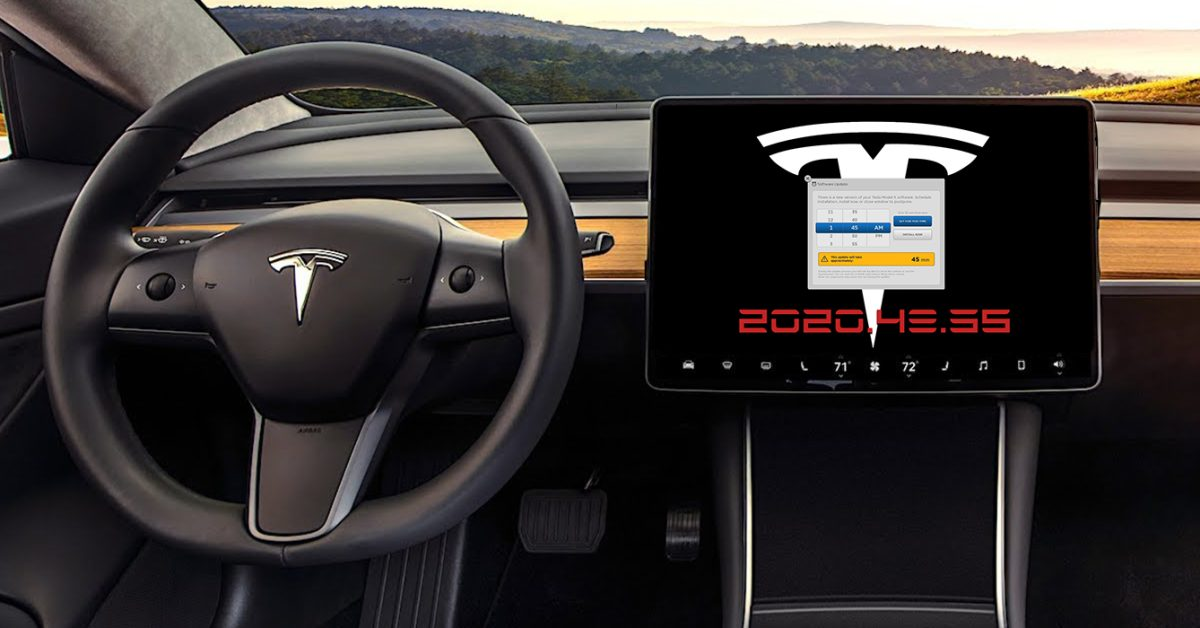 2020.48.30/2020.48.35: What's new in the latest Tesla software update? - Electrek