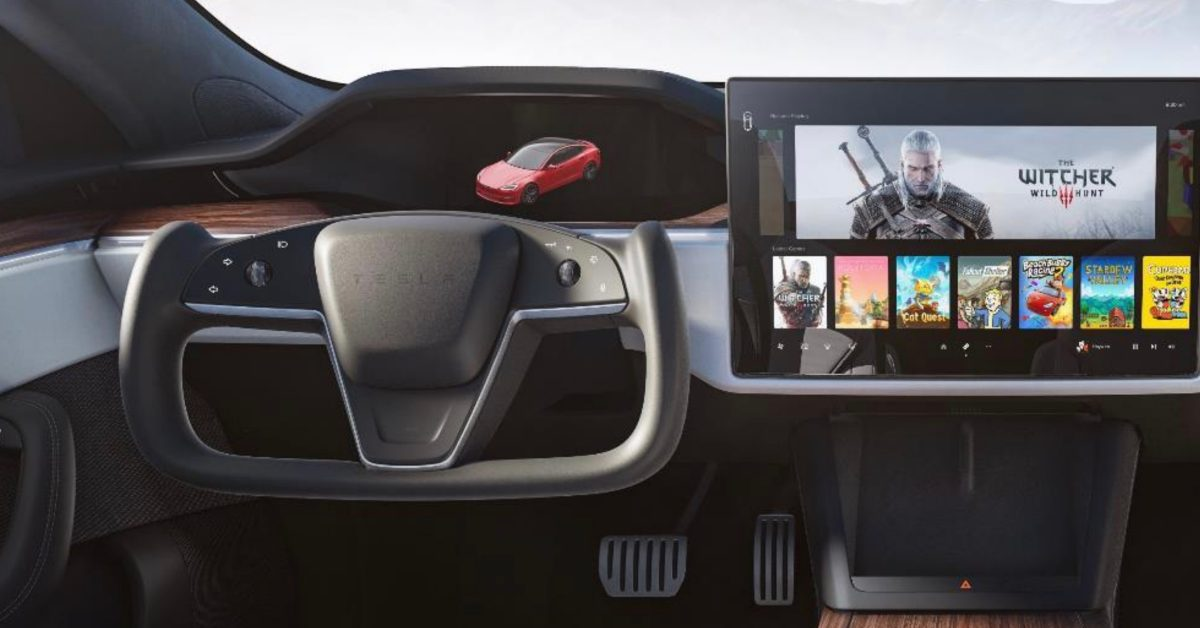 Tesla's new steering wheel comes with Autopilot sensor-based drive modes, force touch buttons, and more - Electrek