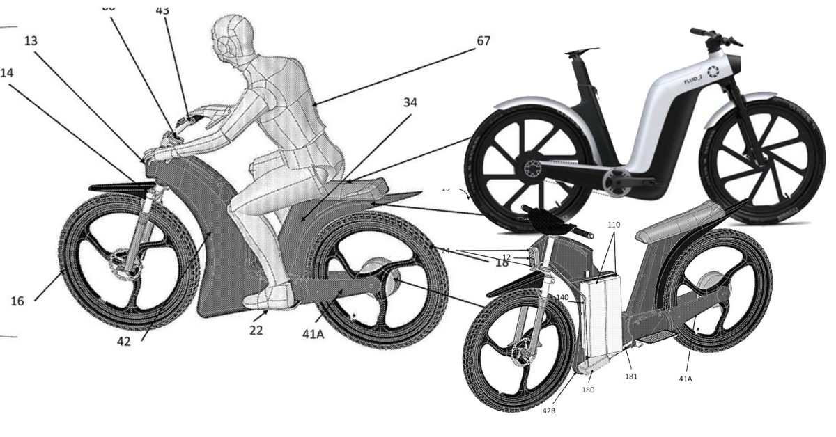 Patent shows Erik Buell's next electric motorcycle may be part bicycle