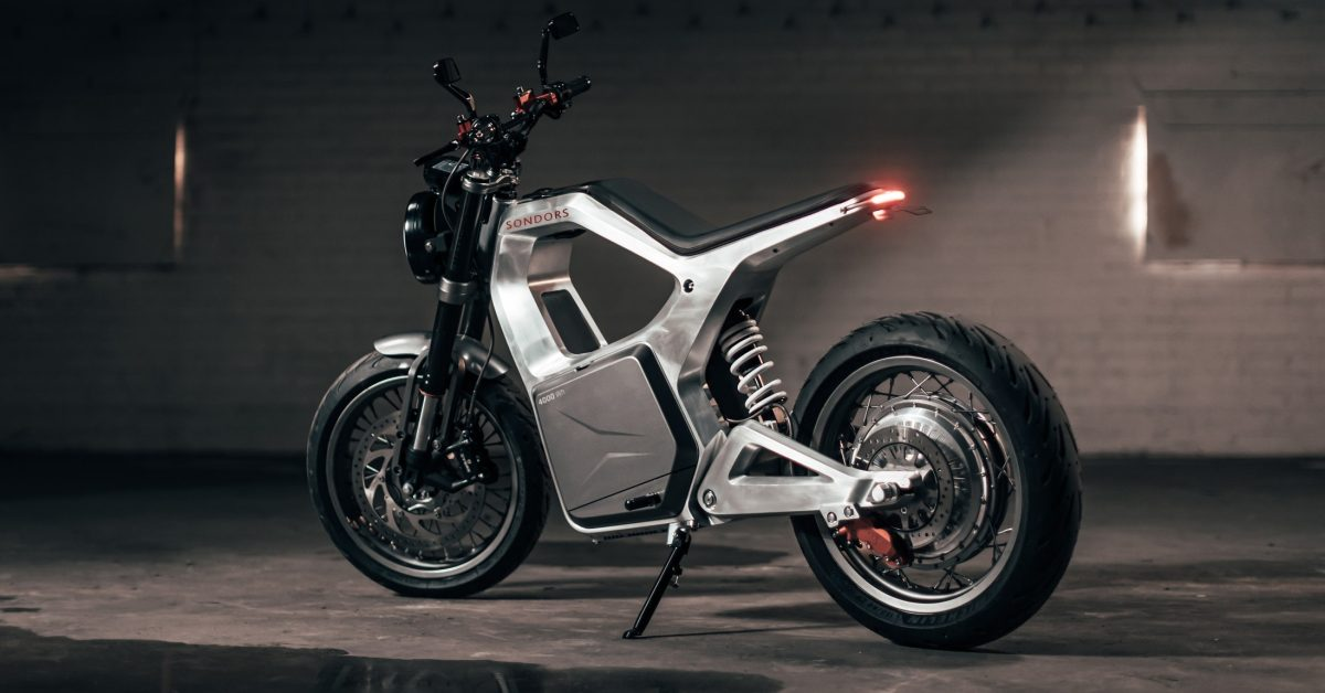 SONDORS Metacycle unveiled as low-cost 80 MPH electric motorcycle