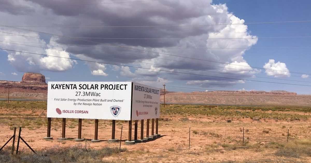 The Navajo Nation finalizes leases for two more solar farms - Electrek