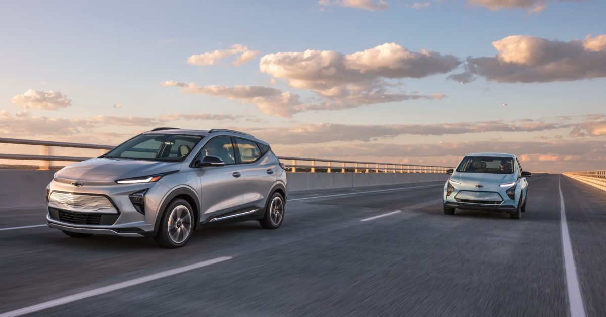 GM's Chevy Bolt EV and EUV get their official EPA ranges; electric crossover comes a bit short - Electrek
