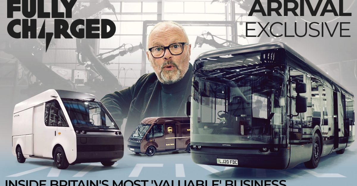 photo of ARRIVAL Exclusive – Inside Britain's most 'valuable' business | FULLY CHARGED image