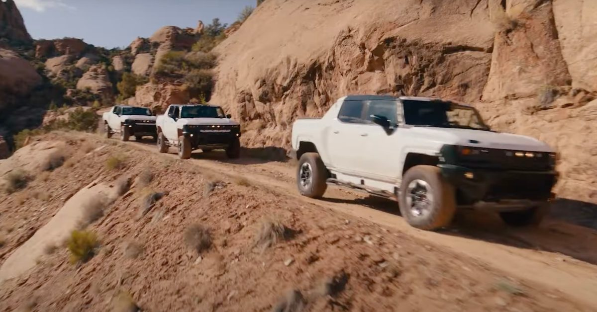 GM releases cool GMC Hummer EV electric pickup off-roading footage and full specs - Electrek