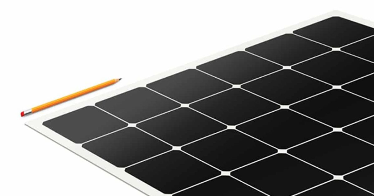 """These lightweight, thin, flexible solar panels """"peel and stick"""" to roofs"""