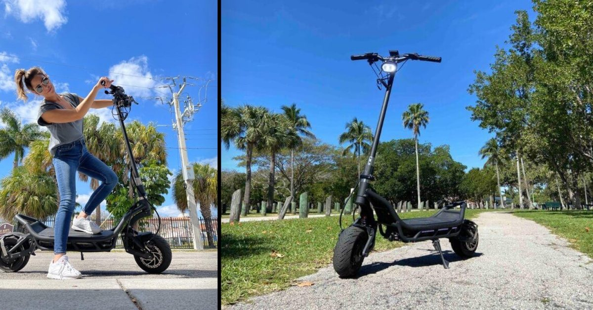 Check out this crazy new 60 mph and 8.4 kW standing electric scooter