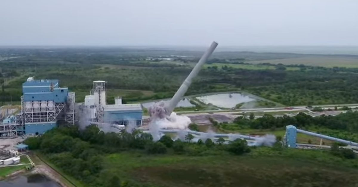 Florida Power & Light blows up its last coal plant, will replace with solar