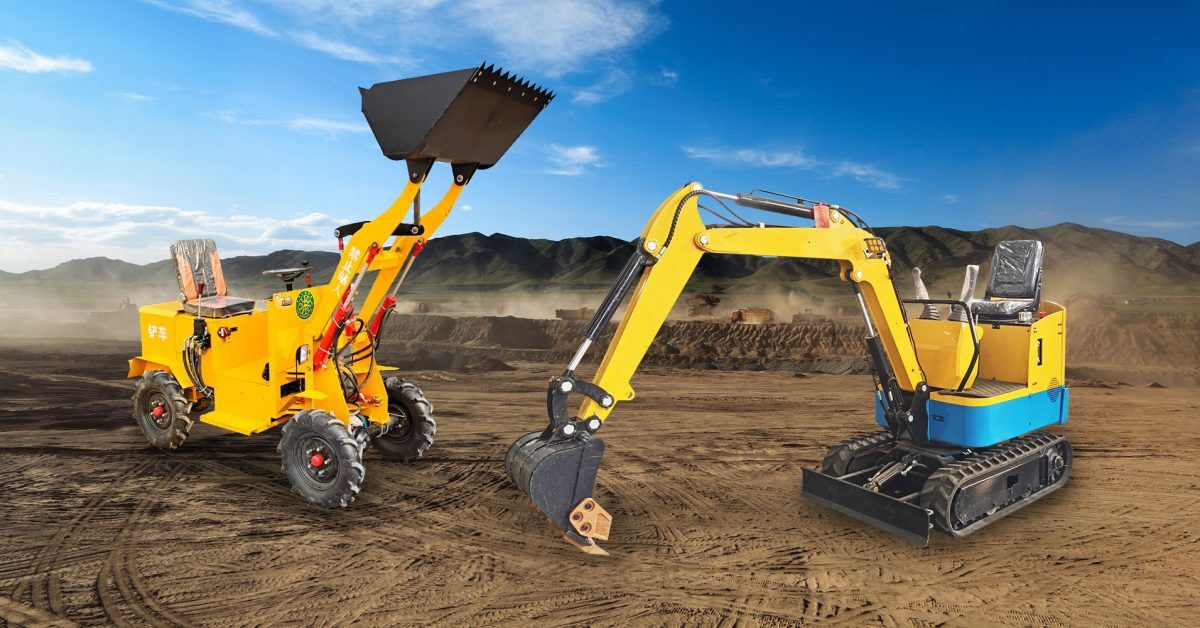 Awesomely Weird Alibaba EV of the Week: Small, cheap electric backhoe!