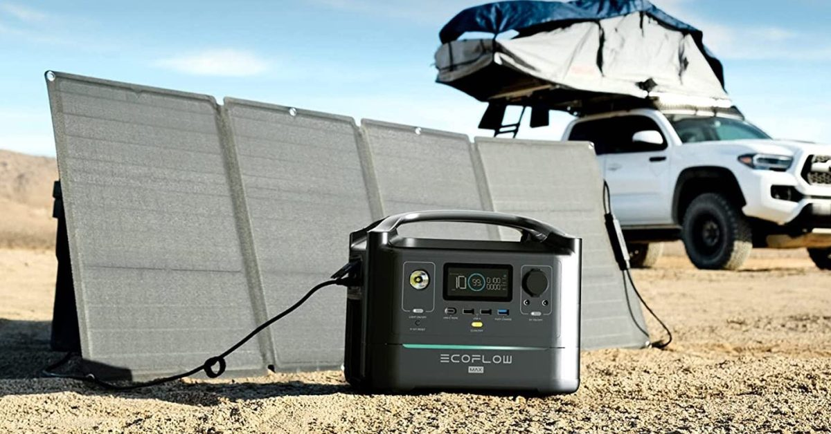 EcoFlow off-grid portable power stations and solar panels up to $350 off, deals from $299
