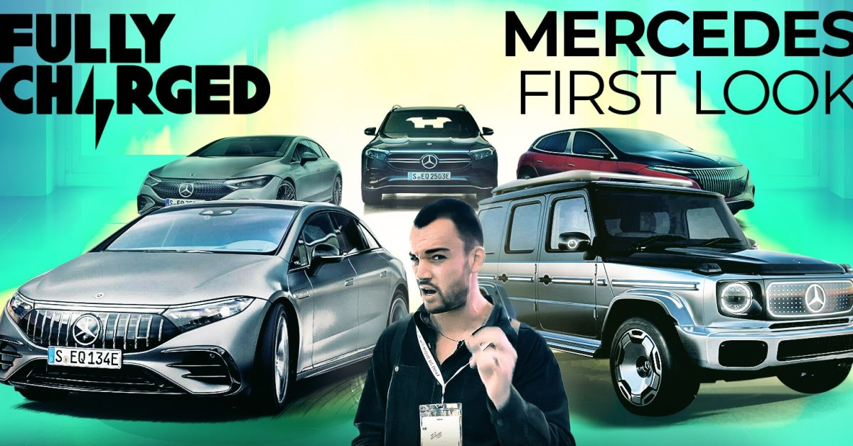 Mercedes unveils 5 new electric cars! First look at EQG, EQE, Maybach EQS, more [Video] thumbnail