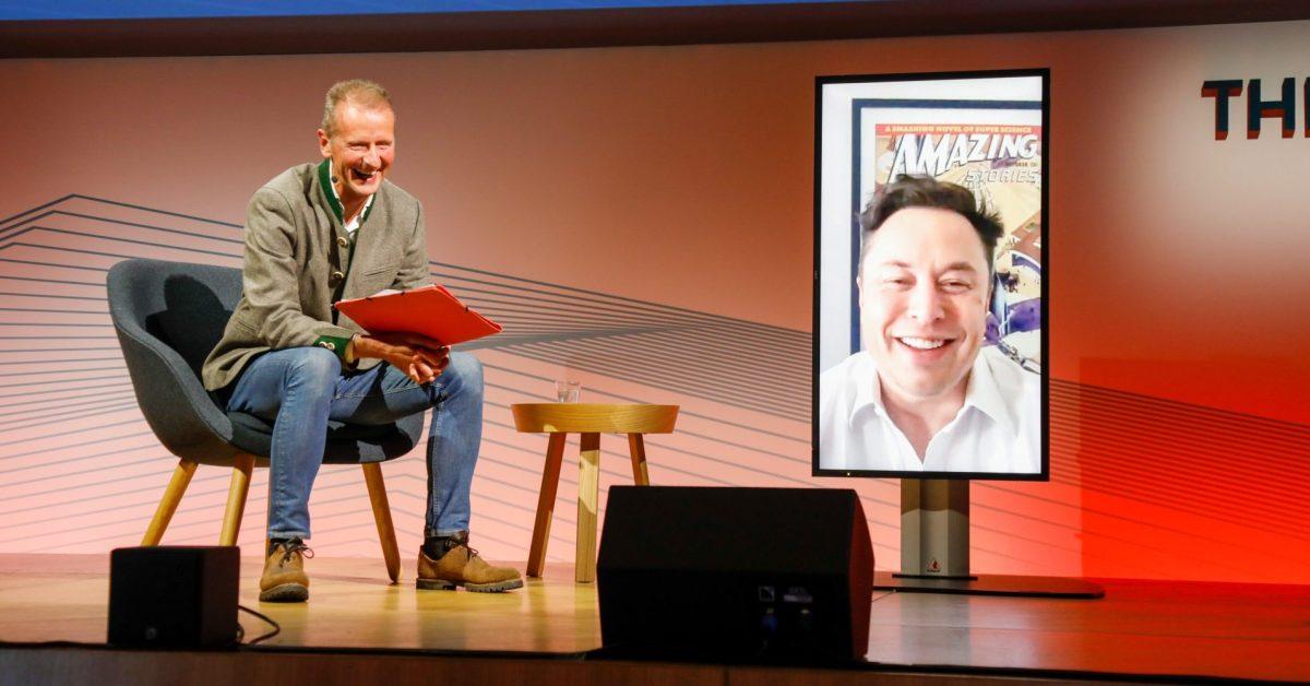 VW CEO Herbert Diess invites Elon Musk to talk on how Tesla innovates quickly