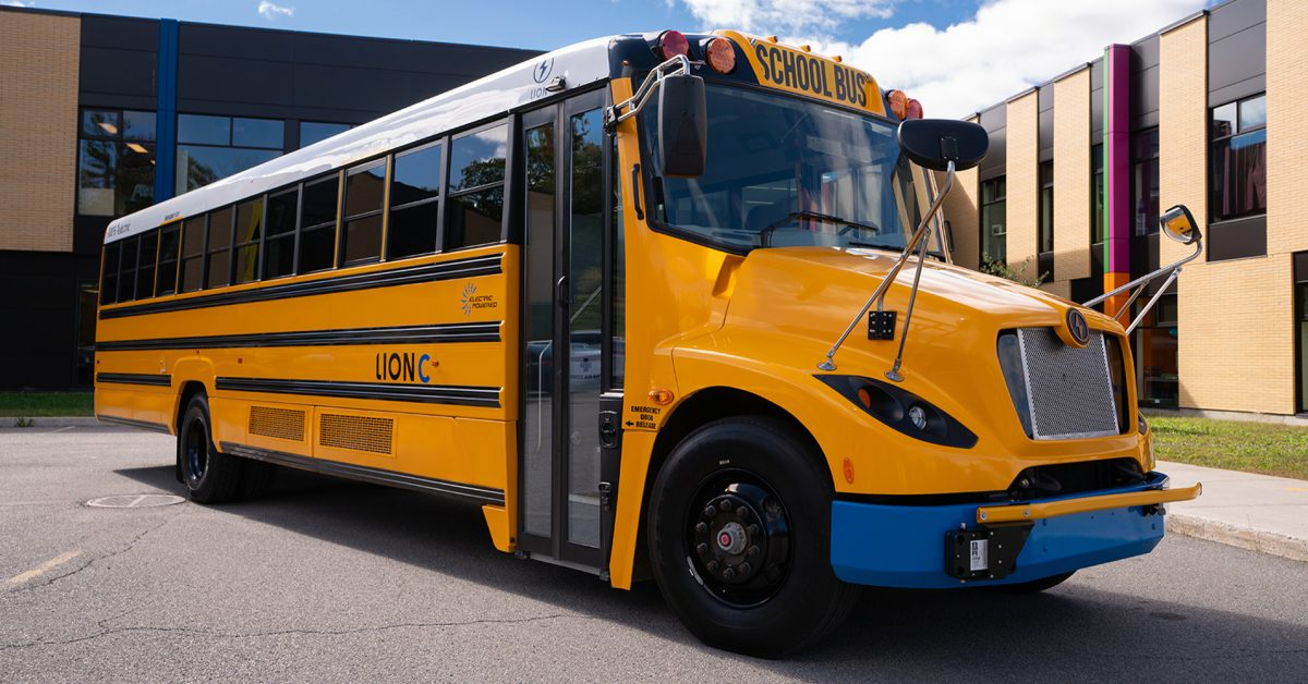 Lion Electric receives conditional PO for 1,000 electric school buses, the largest fleet in North America