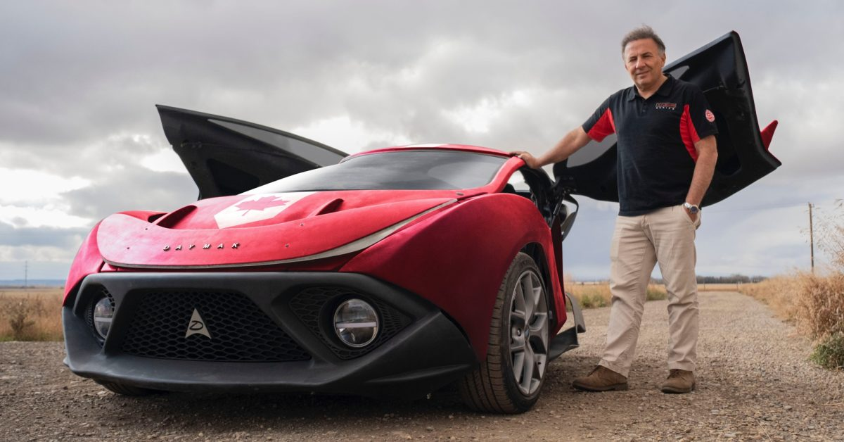 Daymak Spiritus prototype unveiled as $19,995 electric 'car' with 180 mile range
