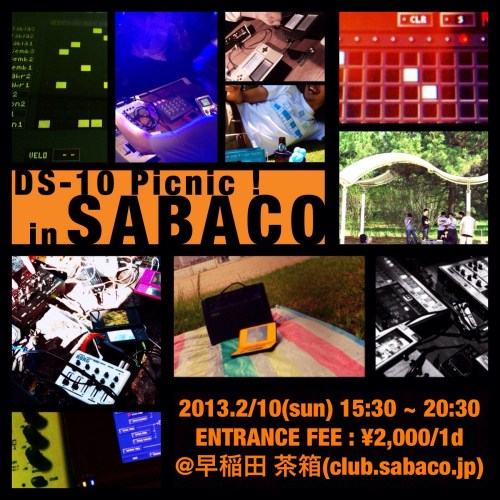 DS-10 Picnic! in 茶箱