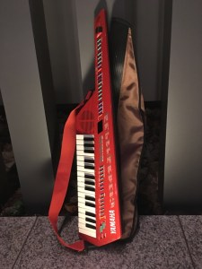 YAMAHA SHS-10 red model