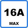 16A max 2 - Type 2 Mennekes naar Schuko 16A adapter (WiFi versie)