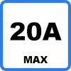 20A max 2 - Oplaadkabel voor TESLA (13.8kW - Type 2)