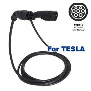 Câble de charge pour TESLA (22kW - Type 2)