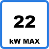Max 22kW 2 - EV oplaadkabel (22kW - Type 2)