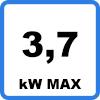 Max 37 - Chargeur portable avec prise domestique pour véhicule électrique (3,7kW - Type 2)
