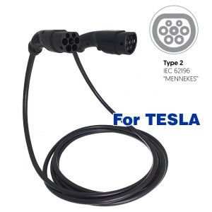 cable de charge pour tesla ev charging cable - Electric vehicle mobile chargers, charging stations and charging cables